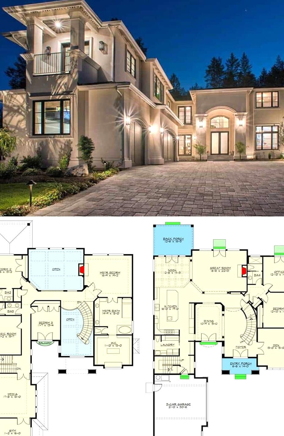 Pin By Kaleigh Tamara On My Beautiful Collections Mansion Floor Plan House Plans Mansion Luxury House Floor Plans