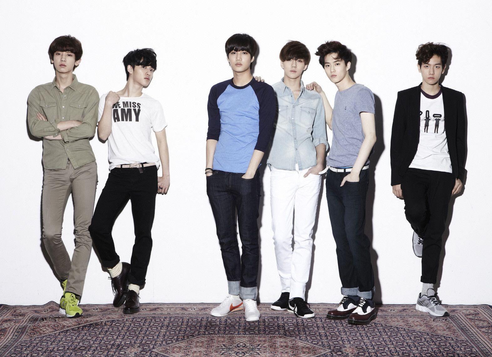 Корейская поп группа exo