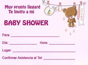 Crear Tarjetas Para Baby Shower Gratis 5 Invitaciones De