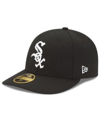 new concept 9857f a5d69 New Era Chicago White Sox Jackie Robinson Day Low Profile 59FIFTY Fitted Cap  - Black 7 1 2