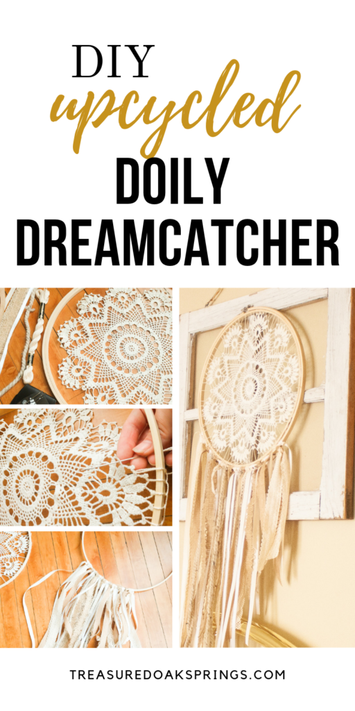 Photo of DIY Doily Dream Catcher – Treasured Oak Springs
