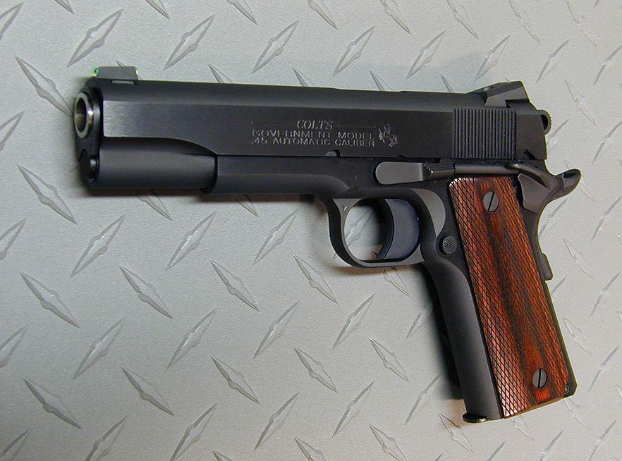 American Rifleman  RugerS First Target Pistol  Guns