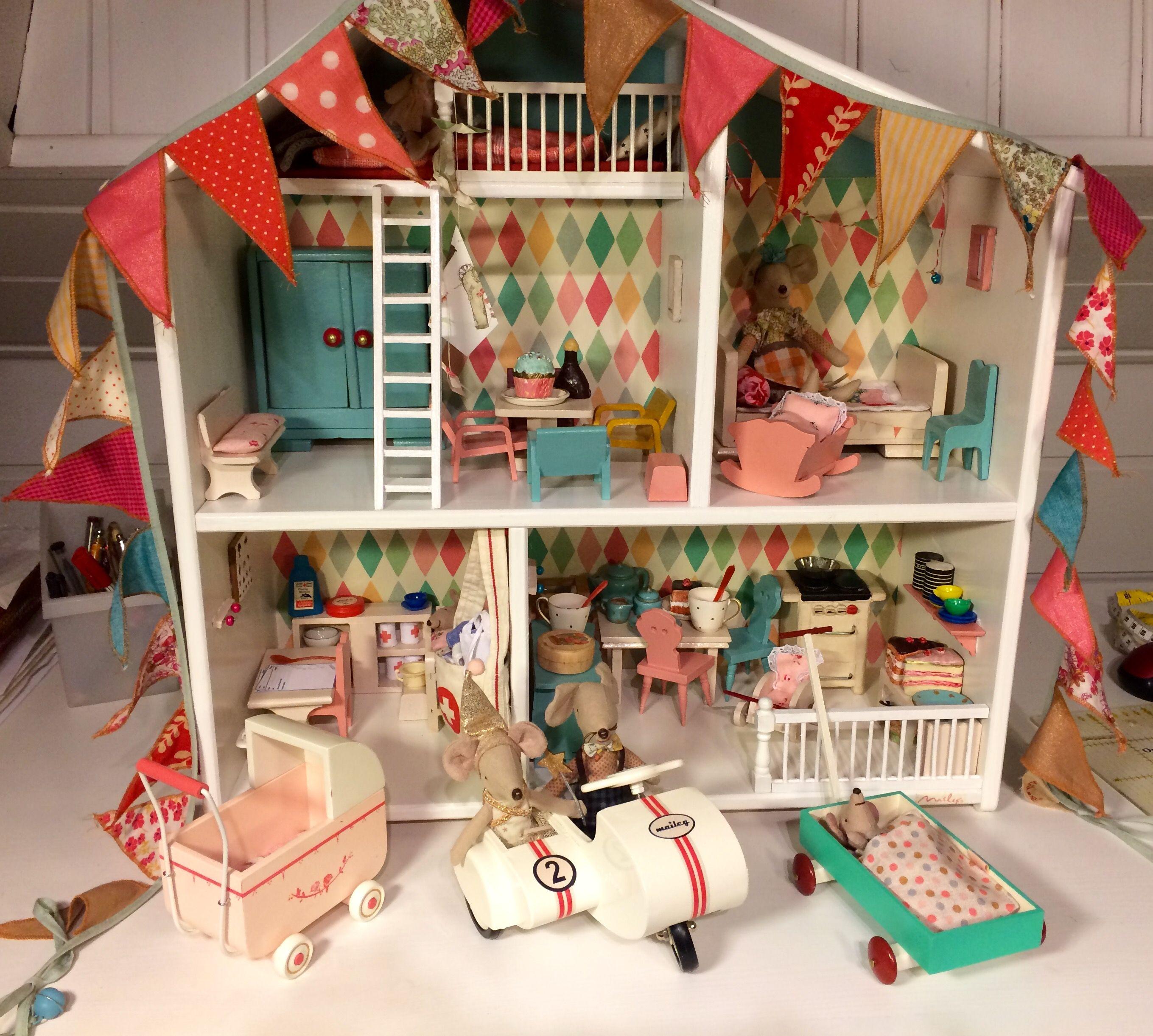 Ein Haus für die Maileg Mäuse Maileg maus, Kinderzimmer