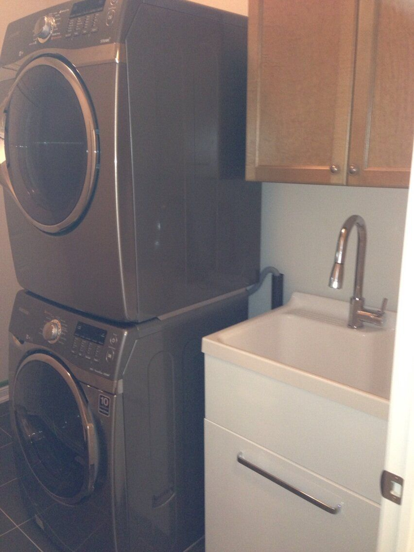 Costco Laundry Tub And Stackable Washer Dryer