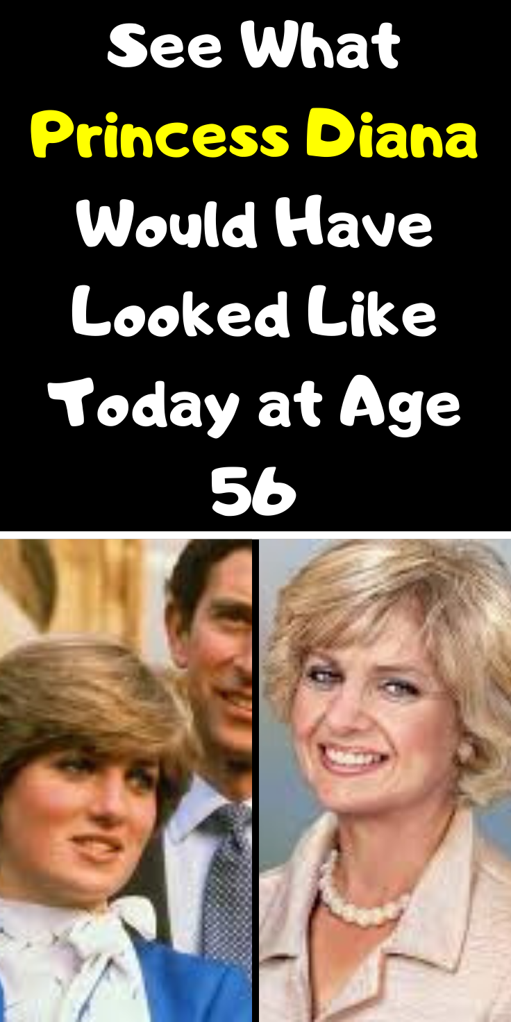 See What Princess Diana Would Have Looked Like Today at