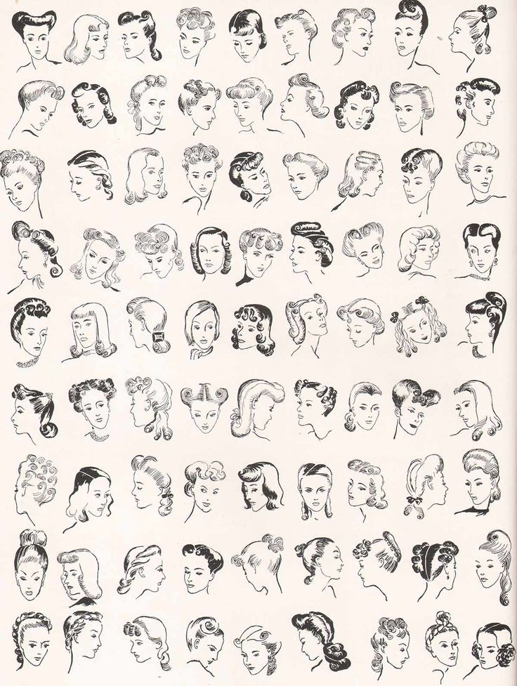 1940svoguehairstyles81coiffures 1940s hairstyles
