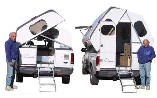 Prefab Friday Quickup Camper Truck Bed Camper Pickup