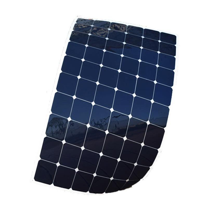 Xinpuguang 2pcs 180w Flexible Solar Panel With High Efficiency Solar Cell Solar Module Charging For 24v 12v Battery Rv Yacht Flexible Solar Panels Solar Cell Solar Module