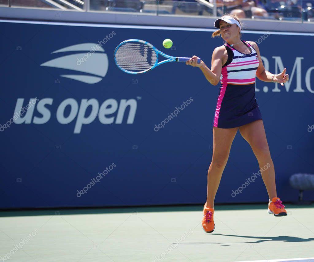 New York August 2019 Professional Tennis Player Sofia Kenin Usa Stock P Affiliate Professional Tenni In 2020 Professional Tennis Players Tennis Players Tennis