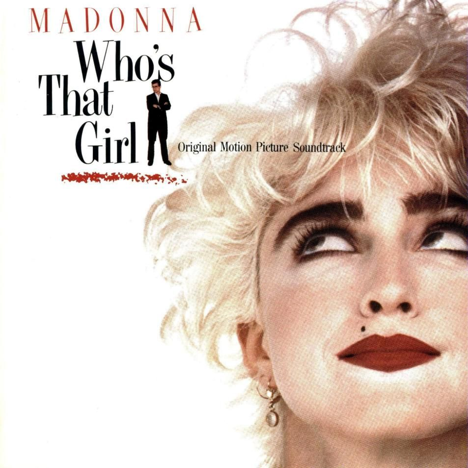Madonna - Who's That Girl streams on amazon app store, apple music