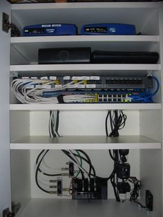Computer Equipment Cabinet Ikea Hackers Computer Equipment Equipment Cabinet Server Room