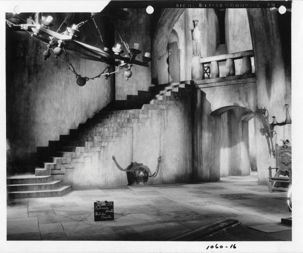 Original Keybook Production Set Still #16. Gelatin Silver