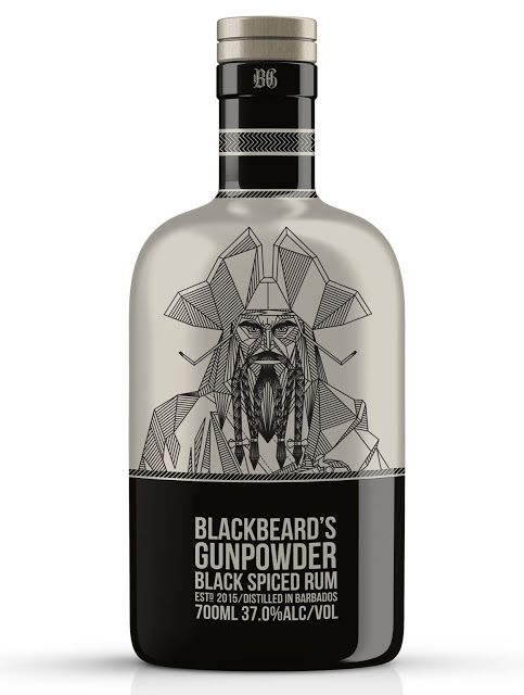Blackbeard's Gunpowder Rum (Concept) on Packaging of the World - Creative Package Design Gallery