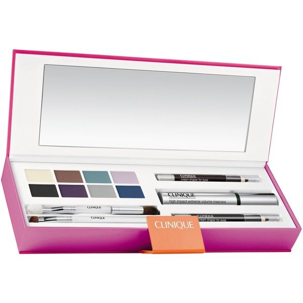 Clinique Holiday Make-Up Gift Set found on Polyvore