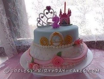 Beautiful Princess Cake For A 2 Year Old Girl With Images