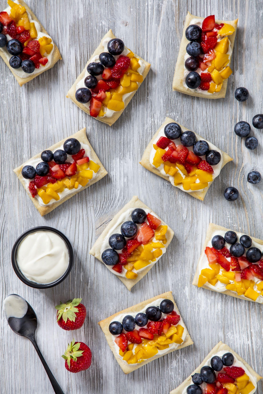 Susser Flammkuchen Mit Deutschlandflagge Rezept Kuchen Muffins