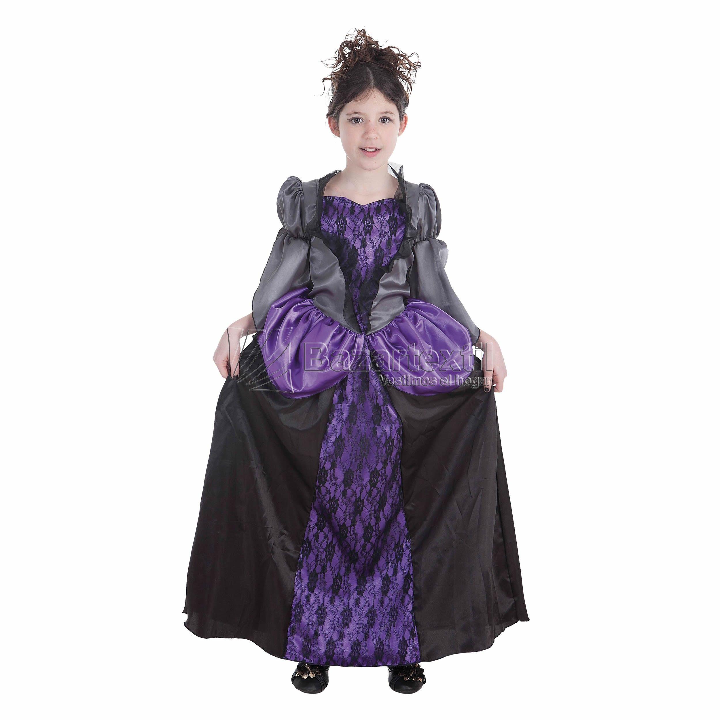 Disfraz Vampira Malva | Disfraces Creaciones Llopis 2014 | Pinterest