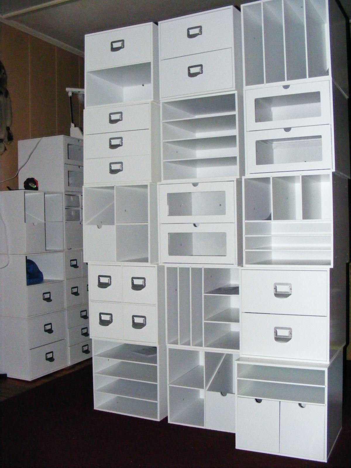 Scrapbook room storage ideas - More New Storage Cubes From M S Scrapbook Com