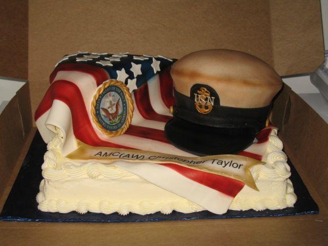 Strange Military Celebrations Cakes Custom Cakes Virginia Beach Va Personalised Birthday Cards Vishlily Jamesorg