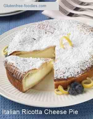 Italian Ricotta Cheese Pie Gluten Free Foodies Desserts Dessert Recipes Sweet Recipes