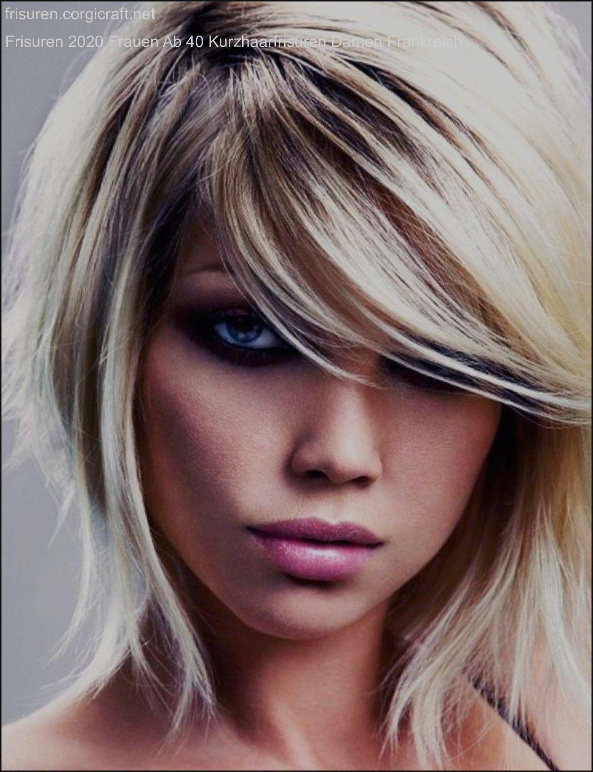 Frisuren 2020 Frauen Ab 40 Kurzhaarfrisuren Damen Frankreich Frisuren Corgicra Kurzer Stufiger Haarschnitt Kurzhaarfrisuren Frisur Vorne Kurz Hinten Lang
