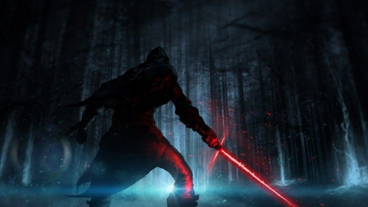 Download Kylo Ren Hd Wallpaper Art Star Wars 7 The Force