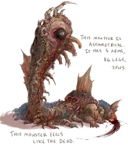 cough into my open mouth my friend made a monster generator and it