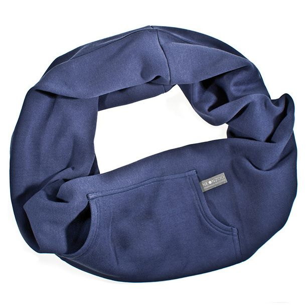 Schal Loop Blau blue, women's scarves, neonzoo see at fab ...