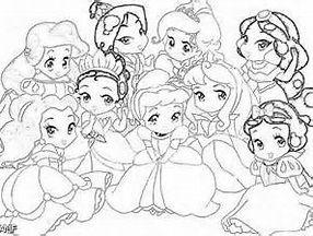 Disney Princess Baby Ariel Coloring Pages Baby Disney Princess Disney Princess Coloring Pages Princess Coloring Pages Cartoon Coloring Pages