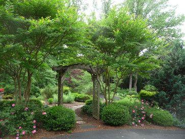 Garden entrance - traditional - landscape - richmond - by Gardens by Monit, llc