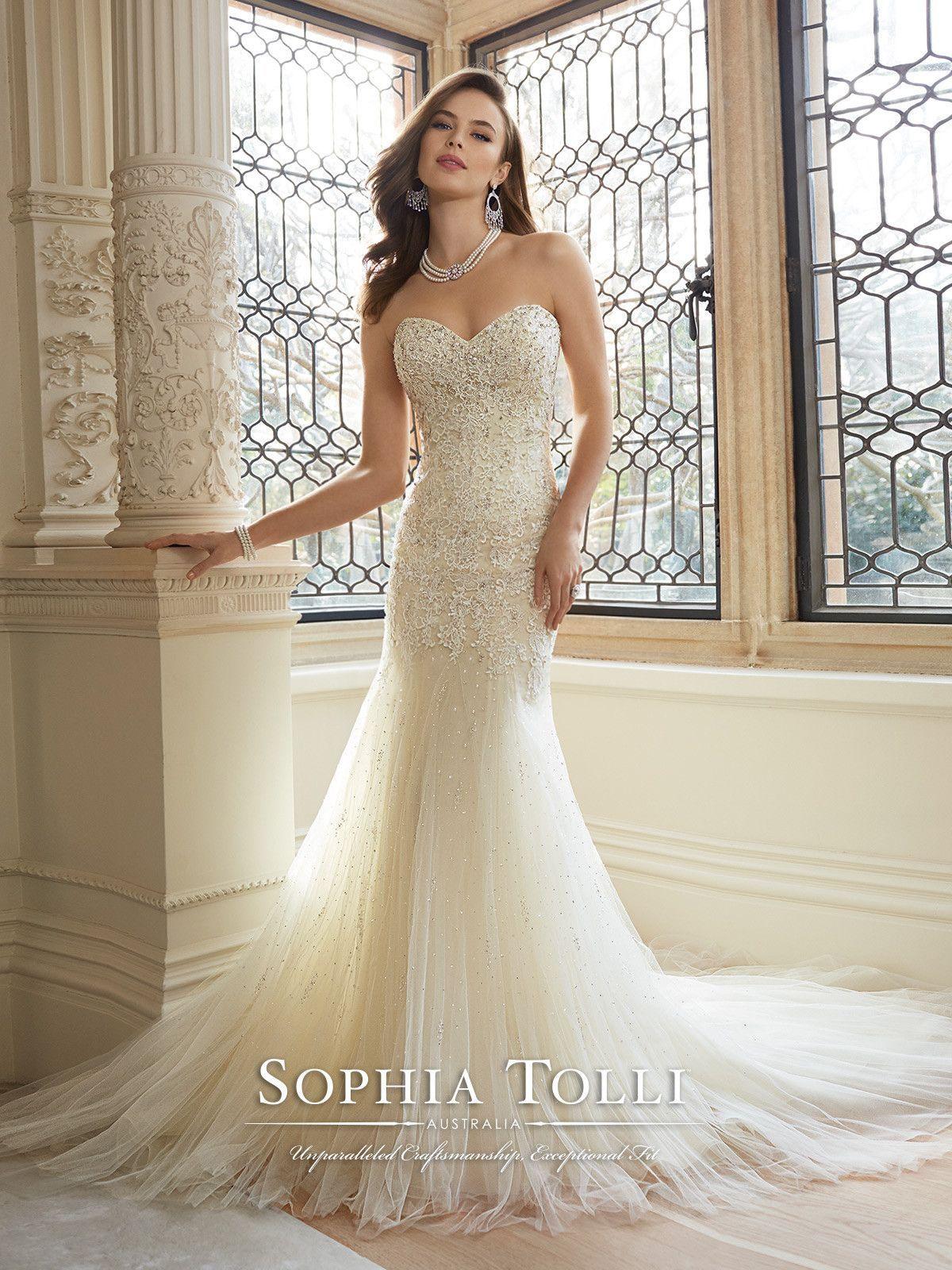 Sophia Tolli - Amira - Y11625 - All Dressed Up, Bridal Gown | Bridal ...