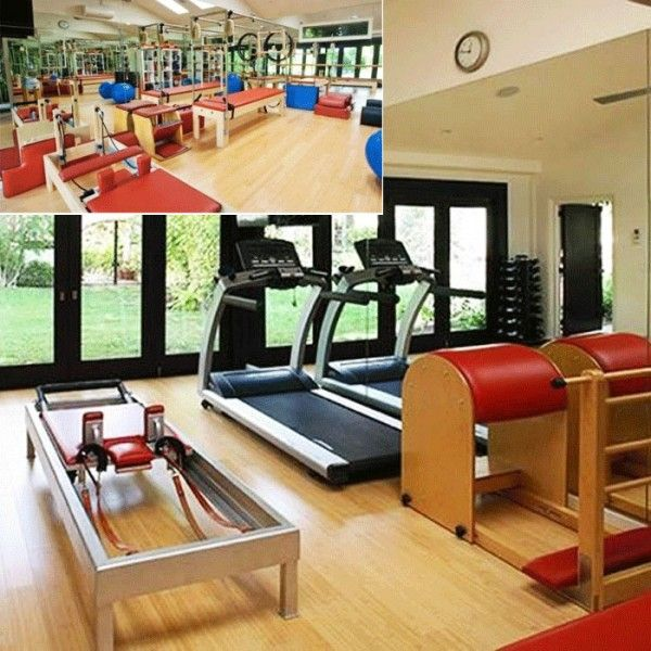 At home gyms #fitness #homegyms