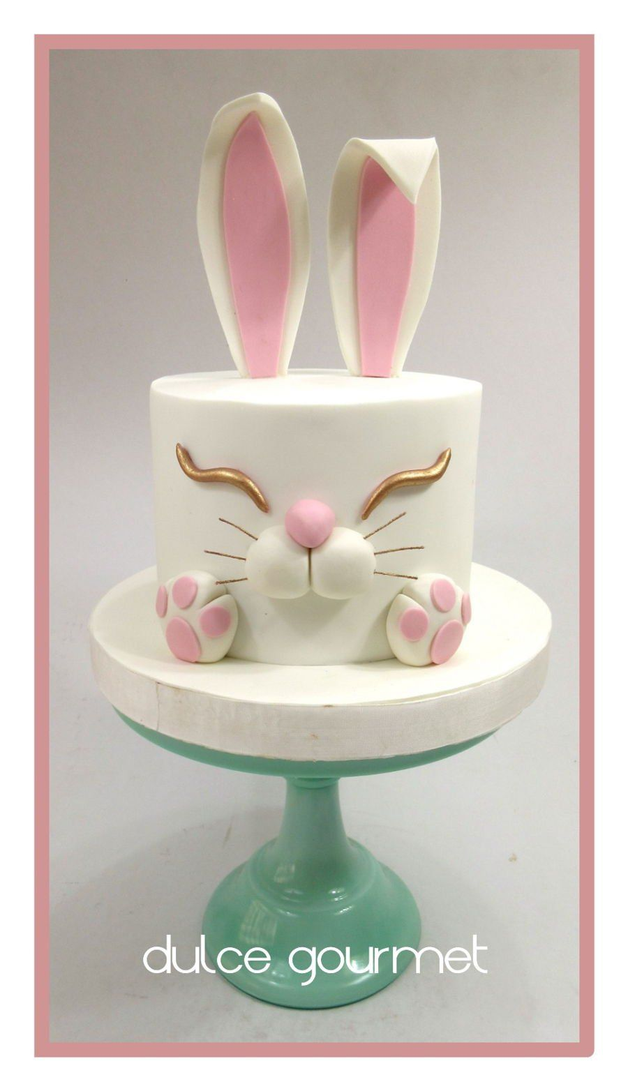 Bunny Easter Cake On Cake Central Bunny Cake Easter Cakes Cupcake Cakes