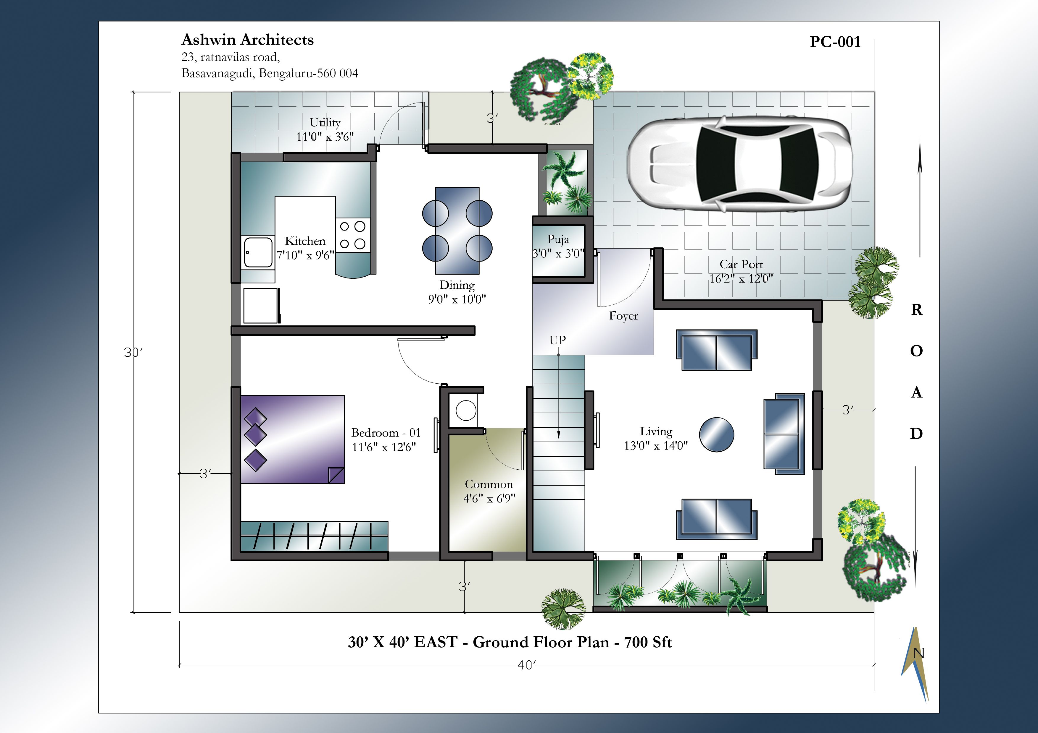 House Plans With Photos 3d house plans Looking For Modern 30 X 40 East Facing House Plans Get This Modern 30 X