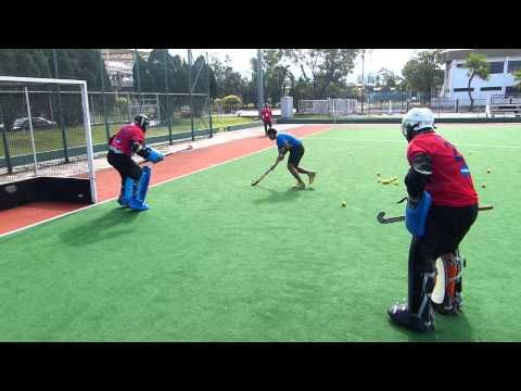 Hockey India Goalkeeper Training Part 1 Of 4 Goalkeeper Training Hockey Coach Goalkeeper