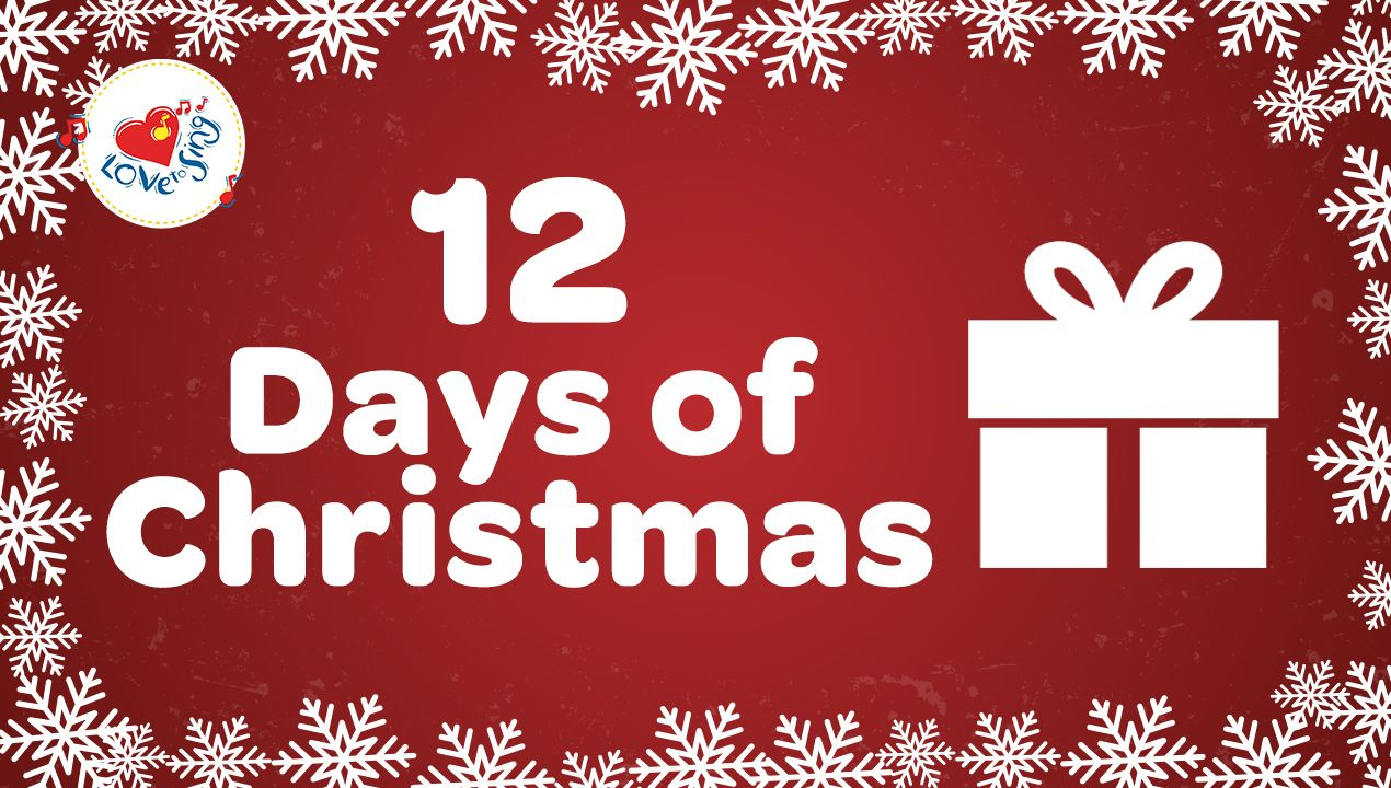 12 Days Of Christmas Song For Kids A Classic Christmas Song You Kids Will Love Sing Along To Th Classic Christmas Songs Christmas Lyrics 12 Days Of Christmas