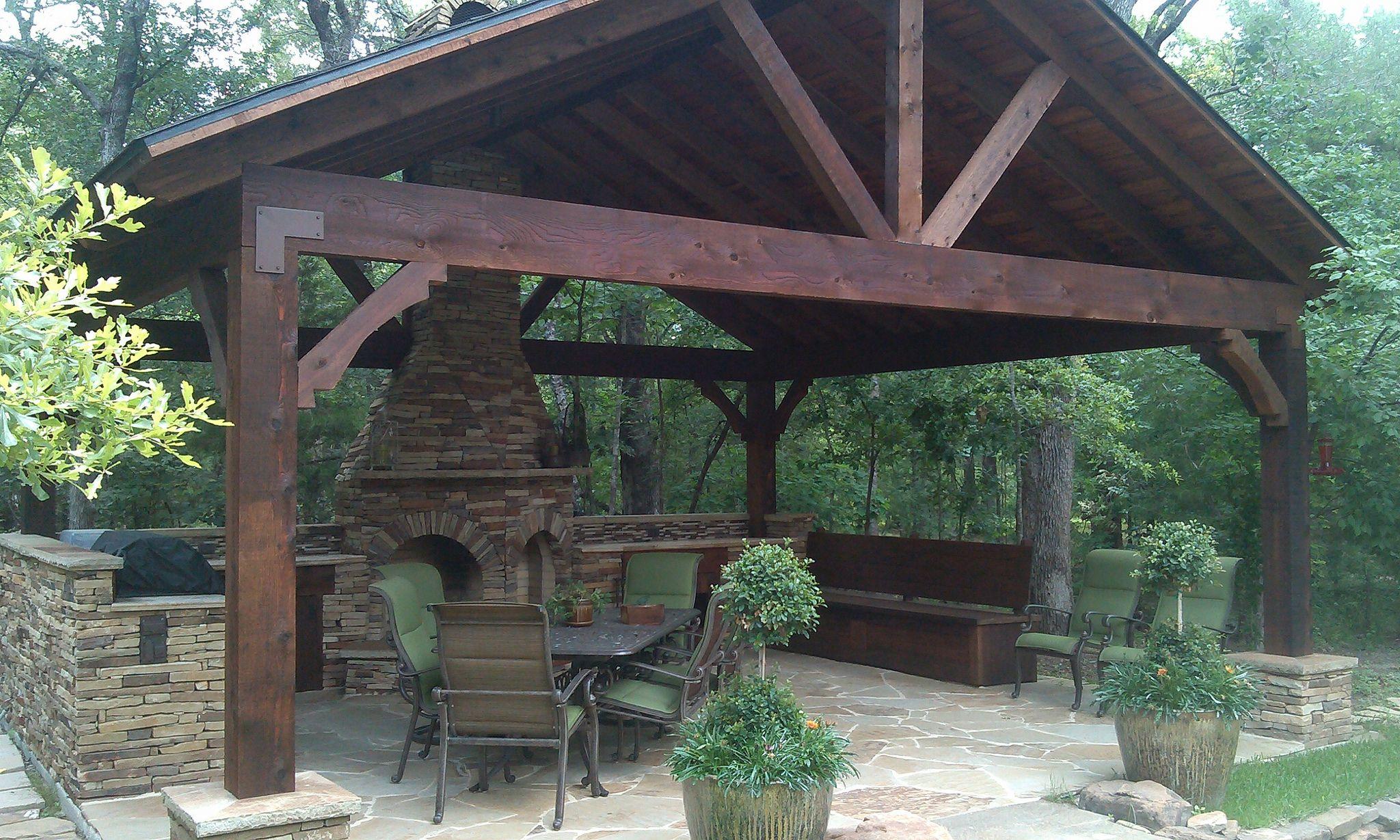 Outdoor Kitchen Install Royse City Tx Outdoor Kitchen Patio Rustic Patio Outdoor Kitchen