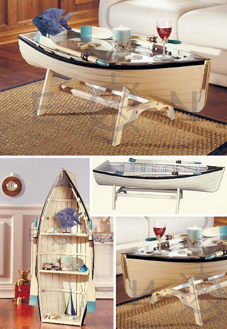 A coffee table for the nautical lover furniture homedecor For