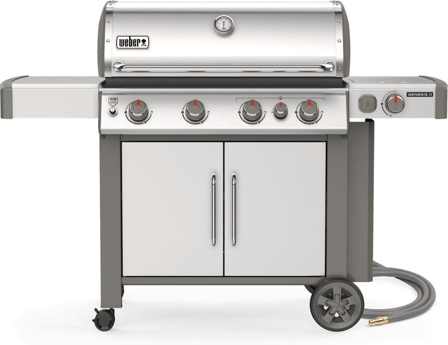 Weber Genesis Ii S 435 Natural Gas Grill Stainless Steel In 2020 Gas Grill Natural Gas Grill Propane Grill