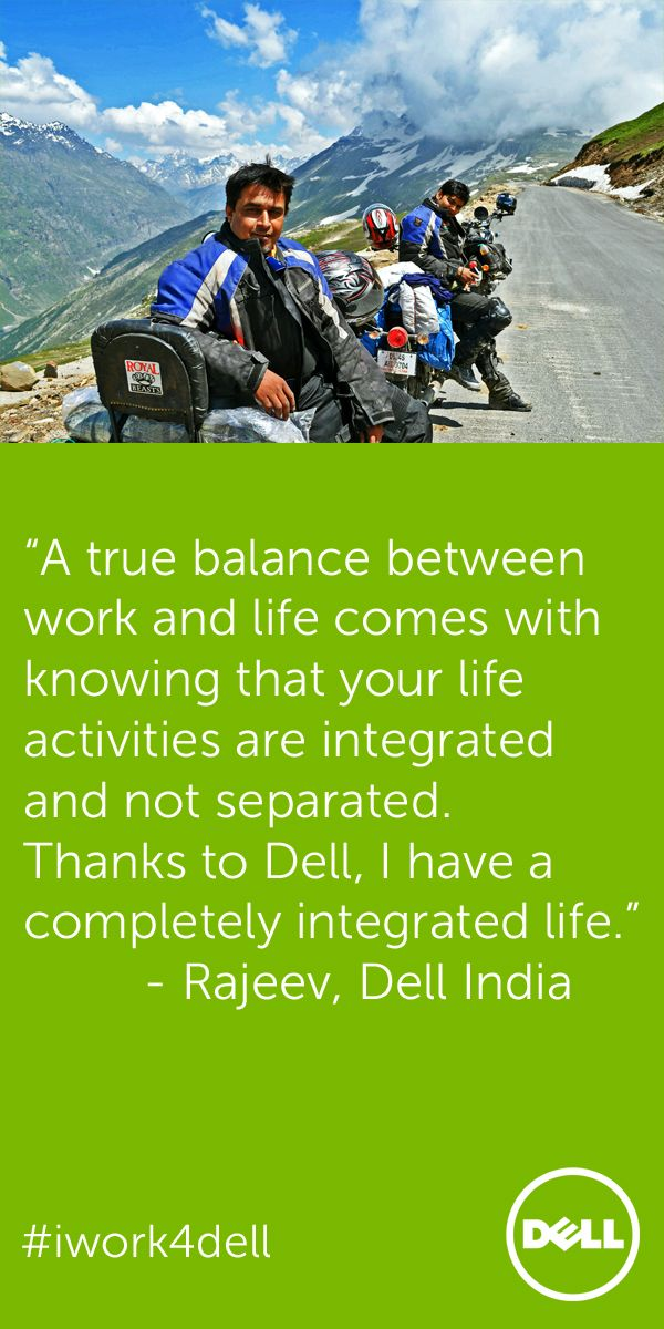 Meet Rajeev From The Talent Acquisition Team Dell India He Is A Biker And Enjoys Riding In The Majestic Hi Social Media Recruiting Career Sites Work Culture