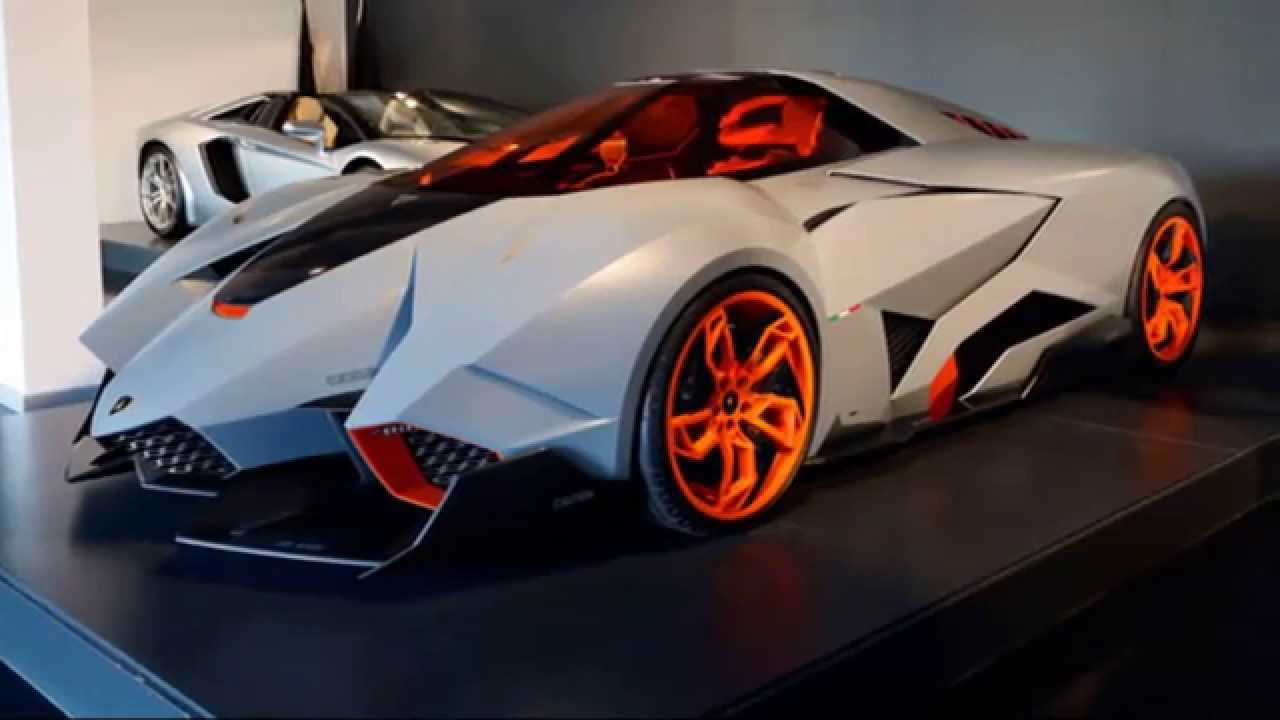 Lamborghini Egoista Goes On Permanent Display At Lamborghini HQ   GTspirit