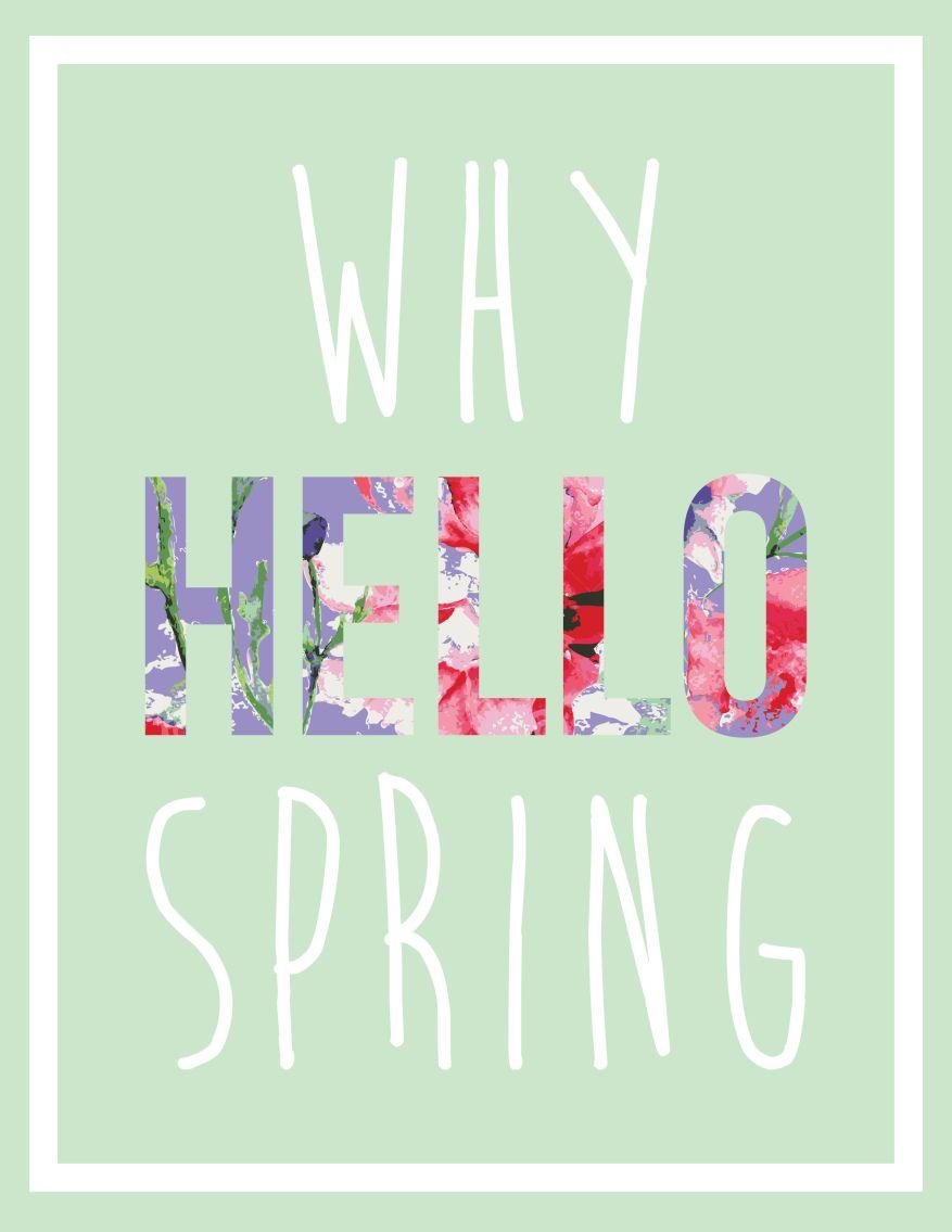Friday's Fab Freebie! brepurposed Spring break quotes