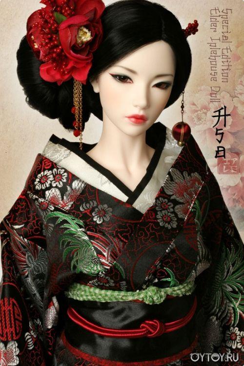 Шарнирная кукла. Кукла в восточном наряде. Кукла в ...