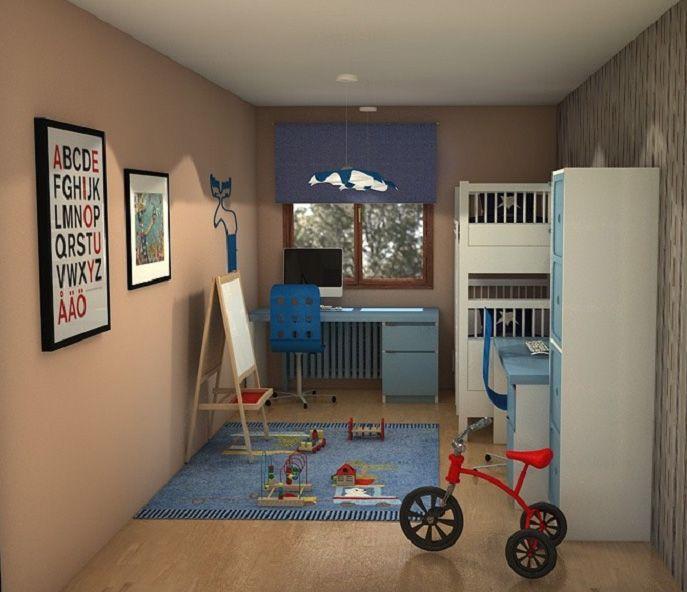 Habitación con #litera