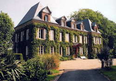 French small chateau canouville castles churches for Small chateau