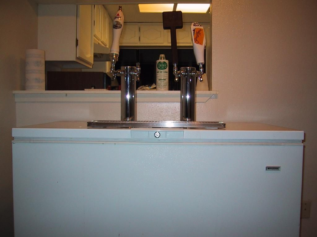 deep freeze kegerators | Home Brewing Beer | Pinterest | Kegerators