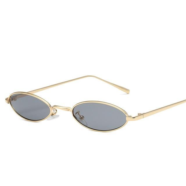 cfbd8d7f95 Retro 90s Oval Sunglasses in 2019
