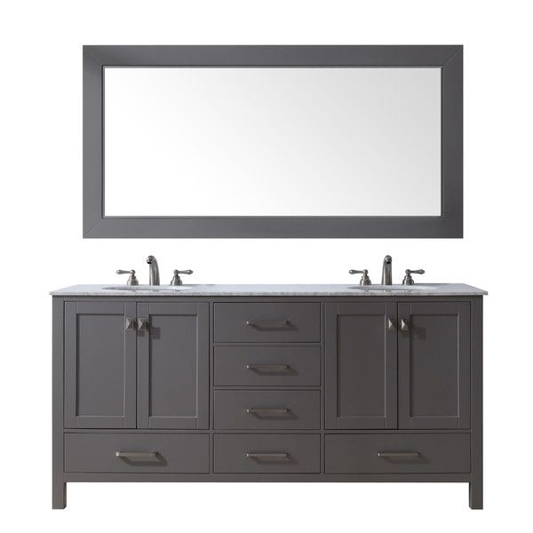 Malibu 60-inch Double Sink Bathroom Vanity in 2018 bathroom vanity