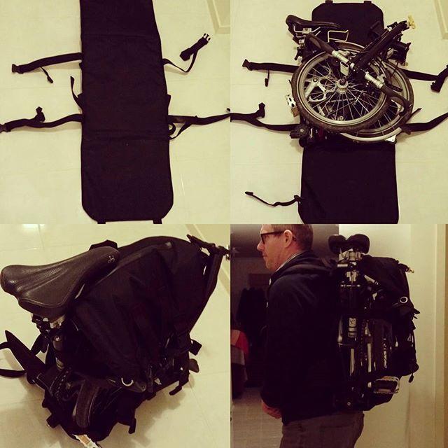New Brompton Backpack By Bluesprite Bags Mybrompton Brompton Bromptonbicycle Bromptonlifestyle Foldingbike Nutca Brompton Bicycle Brompton Folding Bike