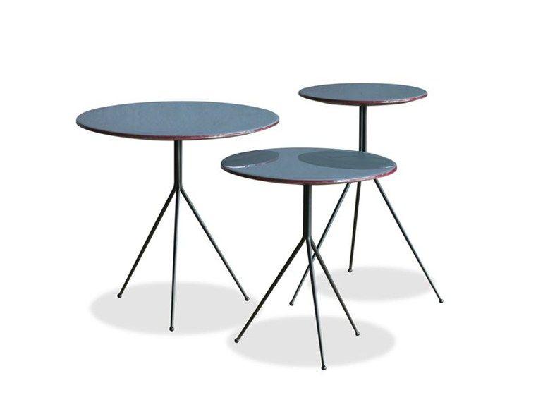 Mesita lacada LIQUID Colección Liquid by BAXTER diseño Draga mesas - mesas de centro de diseo